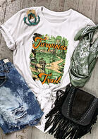 Turquoise Trail T-Shirt Tee