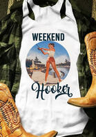 Weekend Hooker Fishing Tank