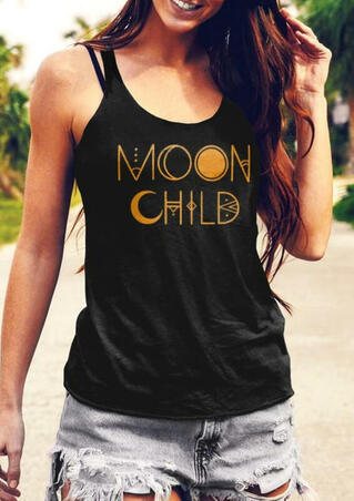 Presale - Moon Child Tank - Black