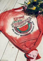 If You Drink Don't Drive Do The Watermelon Crawl T-Shirt Tee