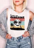 Be Your Own Sunshine Beach Tank