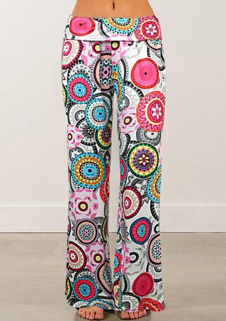 Mandala Wide Leg Pants
