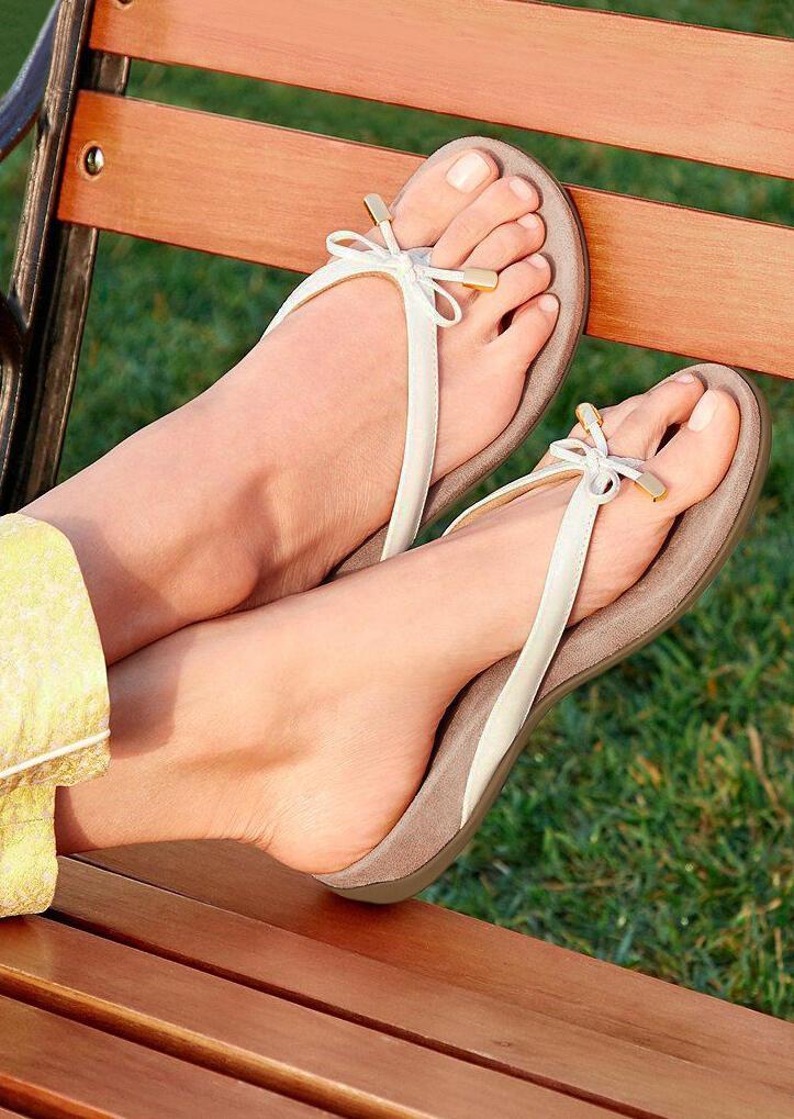 Summer Comfortable Bowknot Flip-Flop Beach Slippers фото