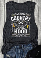 Fairyseason Clothing A Little Country A Little Hood Tank