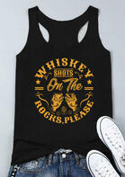 Whiskey Shots On The Rocks Please Star Tank