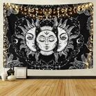 Sun And Moon Wall Hanging Tapestry