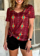 Aztec Geometric T-Shirt