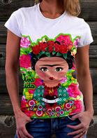 Rose Arrow Heart Polka Dot T-Shirt