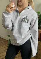 Day Drinkin' Zipper Sweatshirt