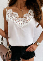 Lace Splicing Camisole