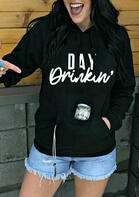 Day Drinkin' Kangaroo Pocket Hoodie