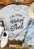 I'm Just A Vintage Soul T-Shirt