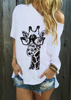 Giraffe Glasses Blouse