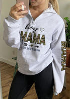 Camouflage Mama Heart Arrow Sweatshirt