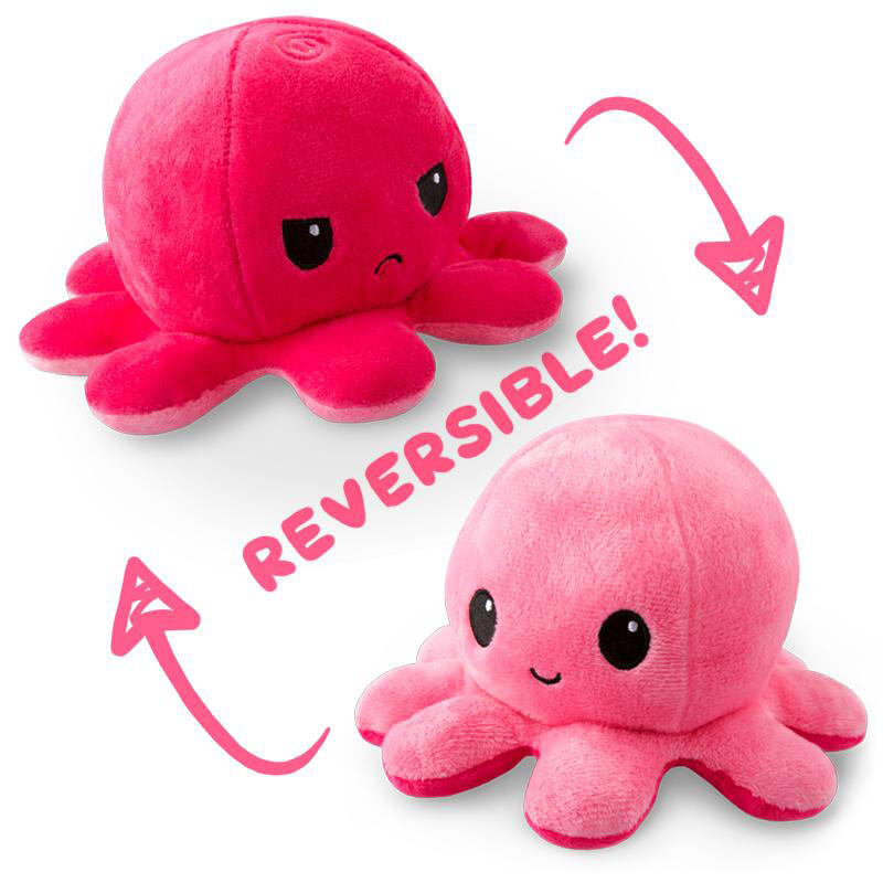 Fairyseason coupon: Reversible Cute Mini Octopus Plush Cool Toy