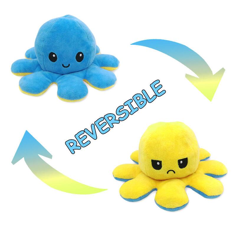 Reversible Cute Mini Octopus Plush Cool Toy