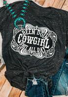 Western Cowgirl T-Shirt