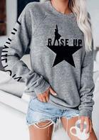 Rise Up Star Sweatshirt