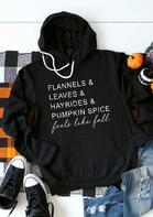 Pumpkin Spice Feels Like Fall Hoodie