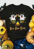 Halloween Boo Boo Bees Star Beer T-Shirt