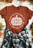 Fall Pumpkin Spice Thanksgiving T-Shirt