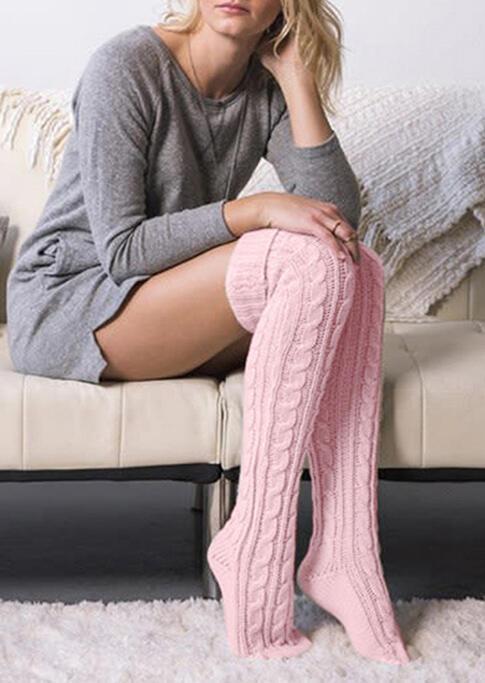 FairySeason / Crimping Thigh-High Socks