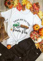 Take Me To The Pumpkin Patch T-Shirt