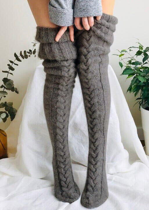 FairySeason / Soft Warm Thigh-High Socks