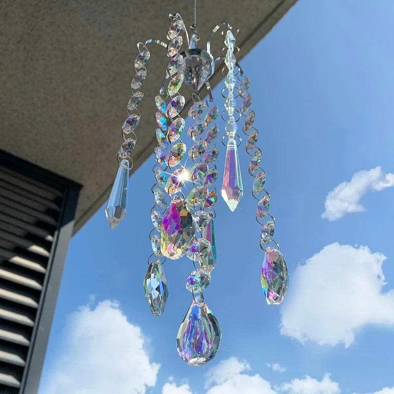 Fairyseason coupon: Rainbow Crystal Wind Chime