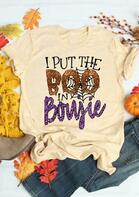 Halloween I Put The Boo In Boujie T-Shirt