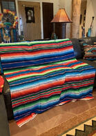 Fashion Serape Striped Blanket
