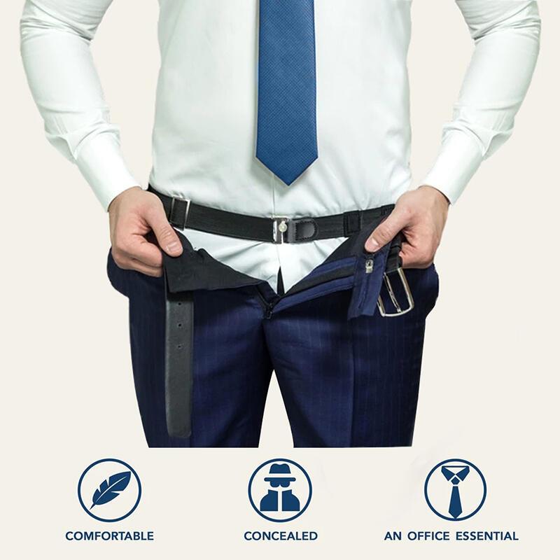 Adjustable Flexible Shirt Stay Belt