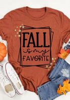 Fall Is My Favorite Casual T-Shirt