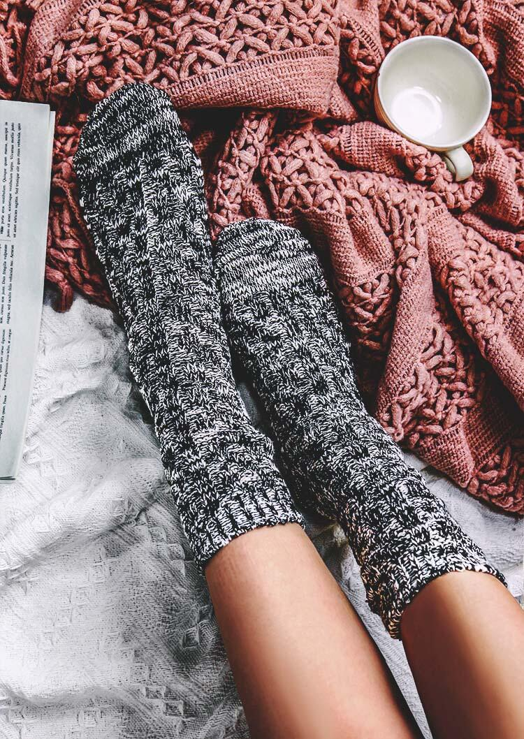 Women's Thick Comfortable Warm Winter Kintted Socks