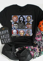 Halloween The Psycho Bunch Horror Movie T-Shirt