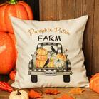 Thanksgiving Pumpkin Patch Pillowcase without Pillow