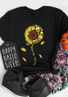 Sunflower Skull You Are My Sunshine T-Shirt