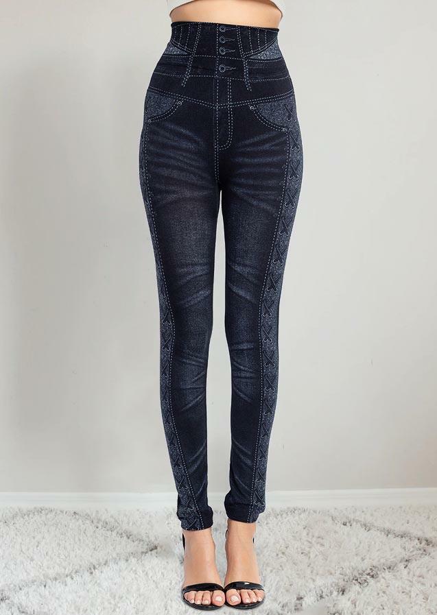 Warm Hip-Lift High Waist Skinny Leggings
