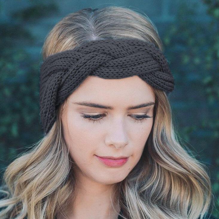 Crochet Knitted Twist Casual Headband