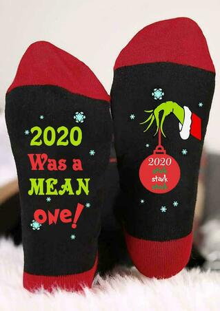 Christmas 2020 Stink Stank Stunk Grinch Hand Socks