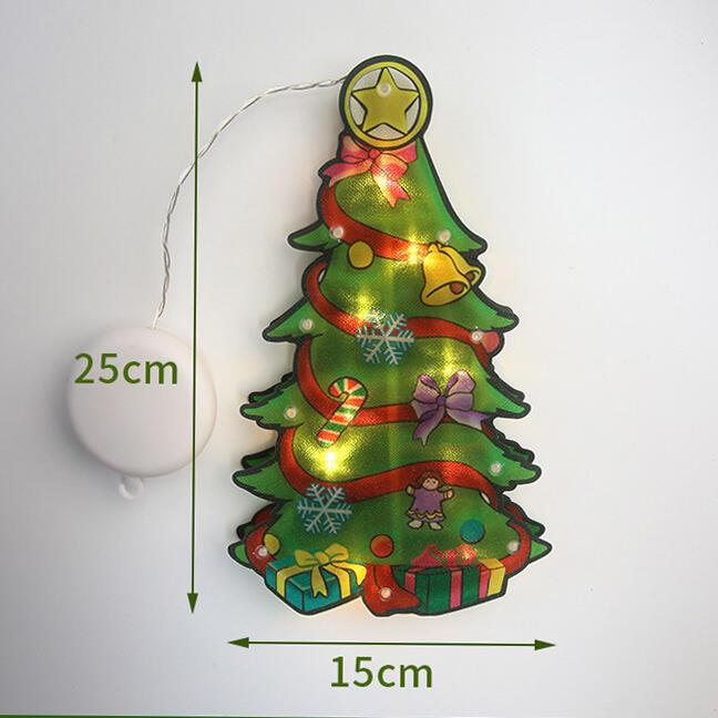 Christmas Indoor Window Light Hanging Ornament
