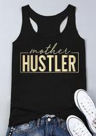 Mother Hustler Casual Tank - Black