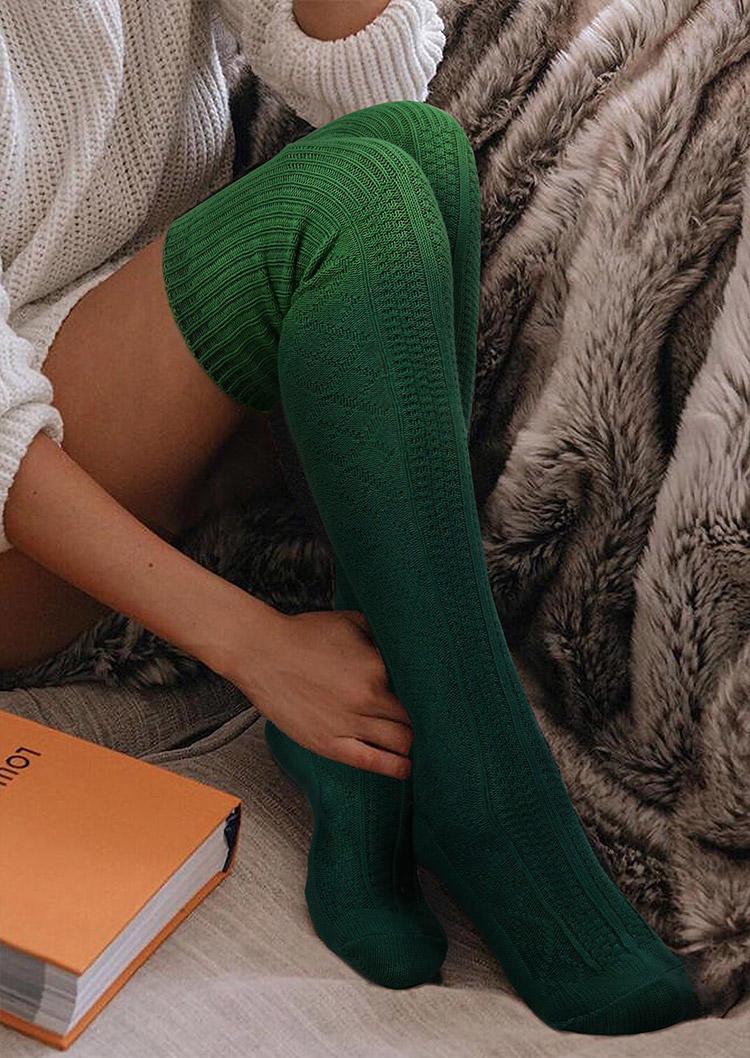 Fairyseason / Gradient Soft Warm Thigh-High Socks