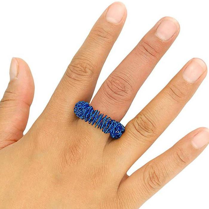 Finger Massage Decompression Ring Toy