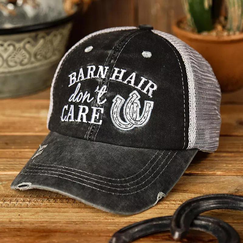 Barn Hair Don't Care Criss-Cross Baseball Cap