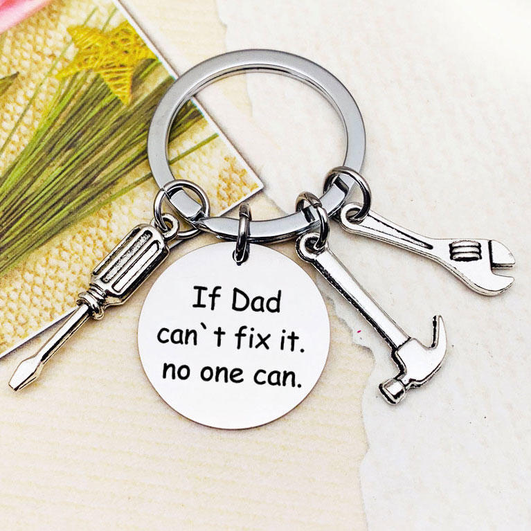 If Dad Can't Fix It No One Can Repair Tool Keychain, 502027, Fairyseason, Pattern1, Pattern2  - buy with discount