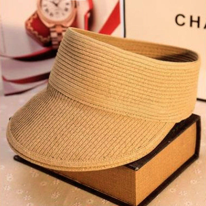 Summer Hollow Out Rolled Up Straw Hat