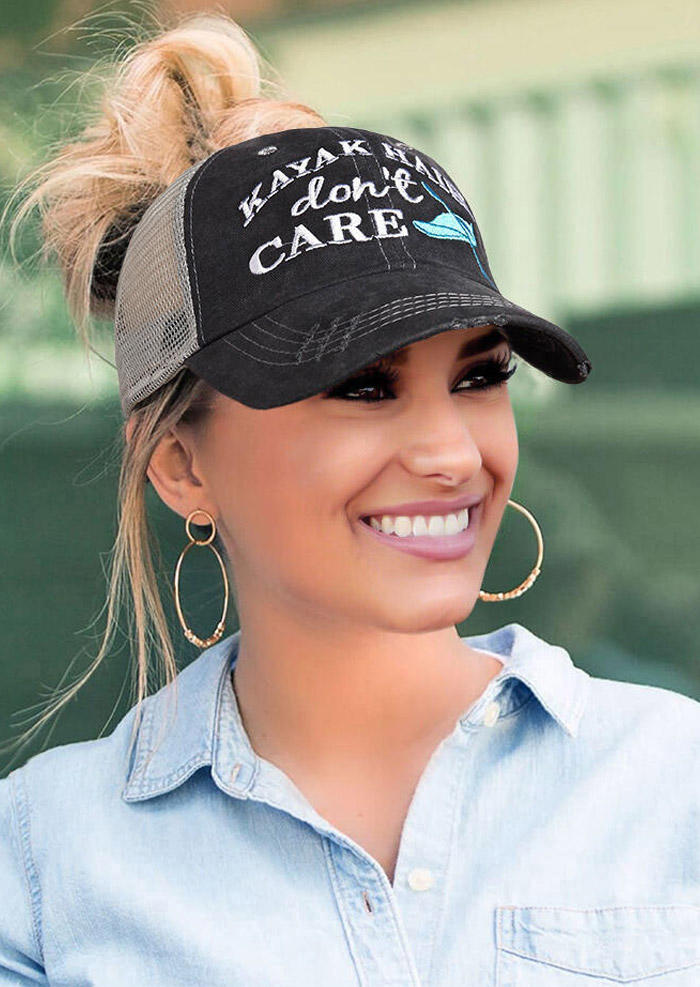 Fairyseason coupon: Kayak Hair Don't Care Mesh Criss-Cross Baseball Cap