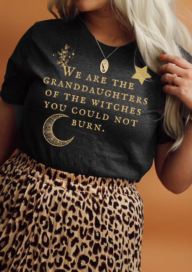 We Are The Granddaughters T-ShirtTee - Dark Grey