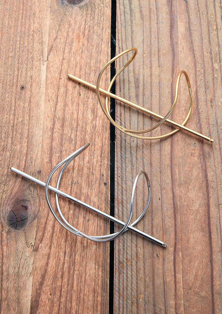 Criss-Cross Asymmetric Alloy Hairpin